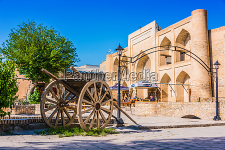 architecture of historic centre of bukhara