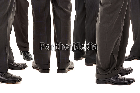 businessmen legs