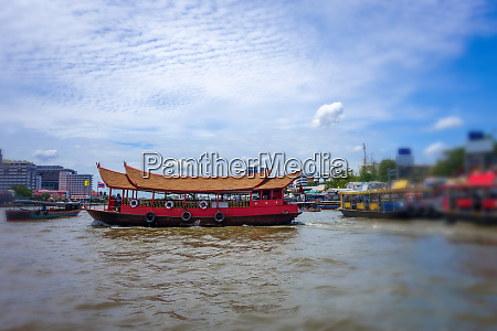 chao phraya river bangkok thailand