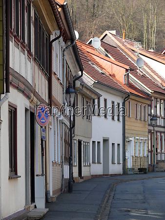 street in bad lauterberg in the