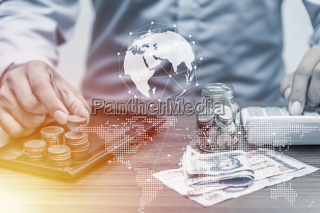 technology network online banking and internet