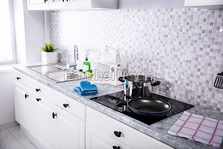 view of a kitchen worktop