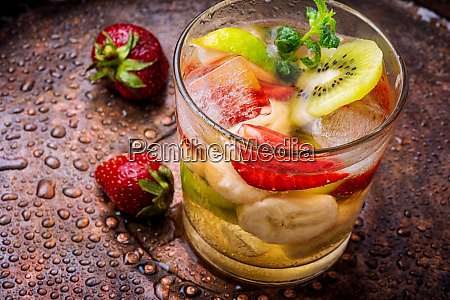 iced summer drink