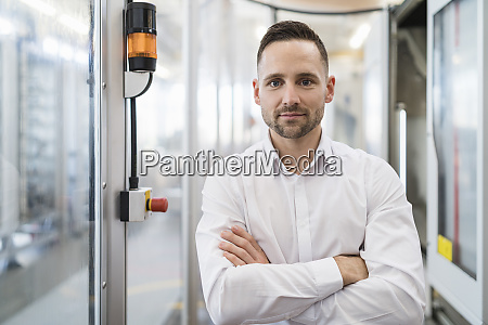 portrait of confident businessman in a
