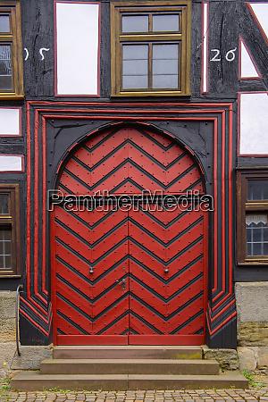 germany fritzlar old town front door