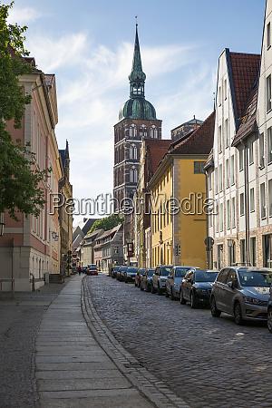 germany mecklenburg western pomerania stralsund old