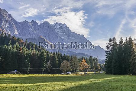 germany garmisch partenkirchen grainau view to