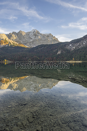 germany garmisch partenkirchen grainau lake eibsee