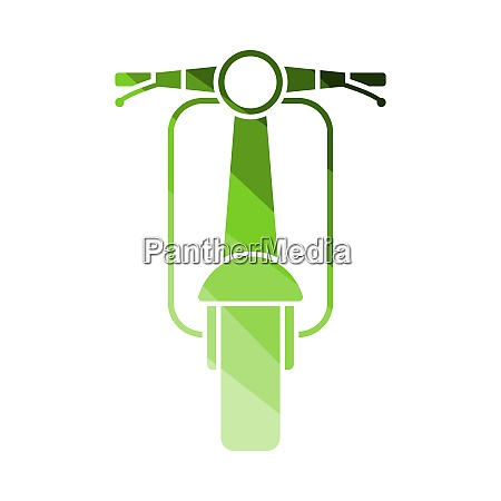 scooter icon front view