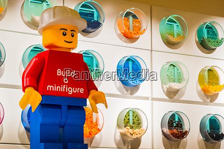 lego store background