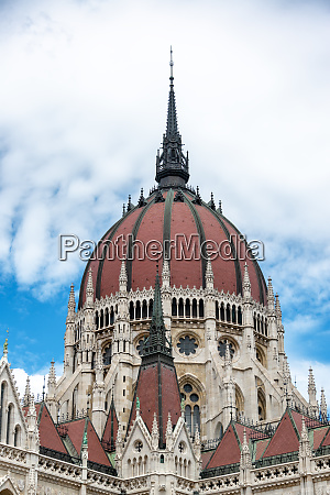 dome of hungarian parliament
