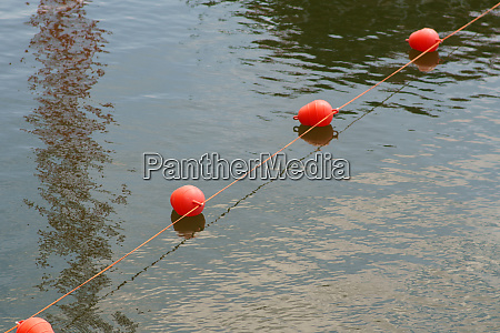 signal buoys in the inland port