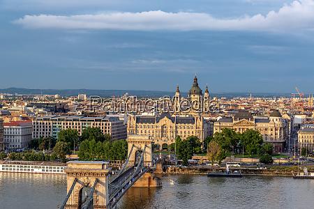 stunning budapest cityscape
