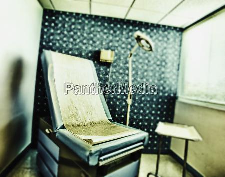 dermatology examination room