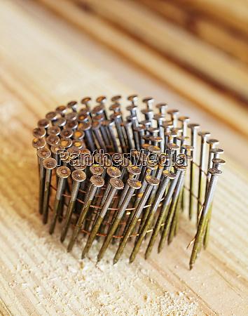 coiled framing nails