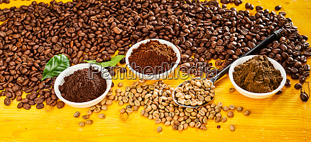 assorted single origin gourmet coffees