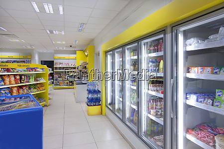 gas station shop
