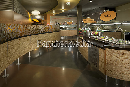 cafeteria in office building