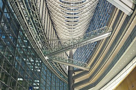 tokyo international forum interior
