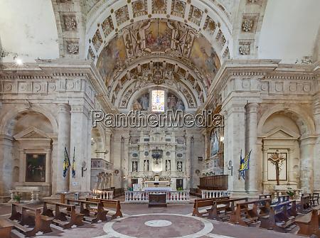 san biagio church interior