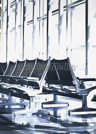 airport departure seating