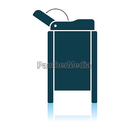 baby swaddle table icon
