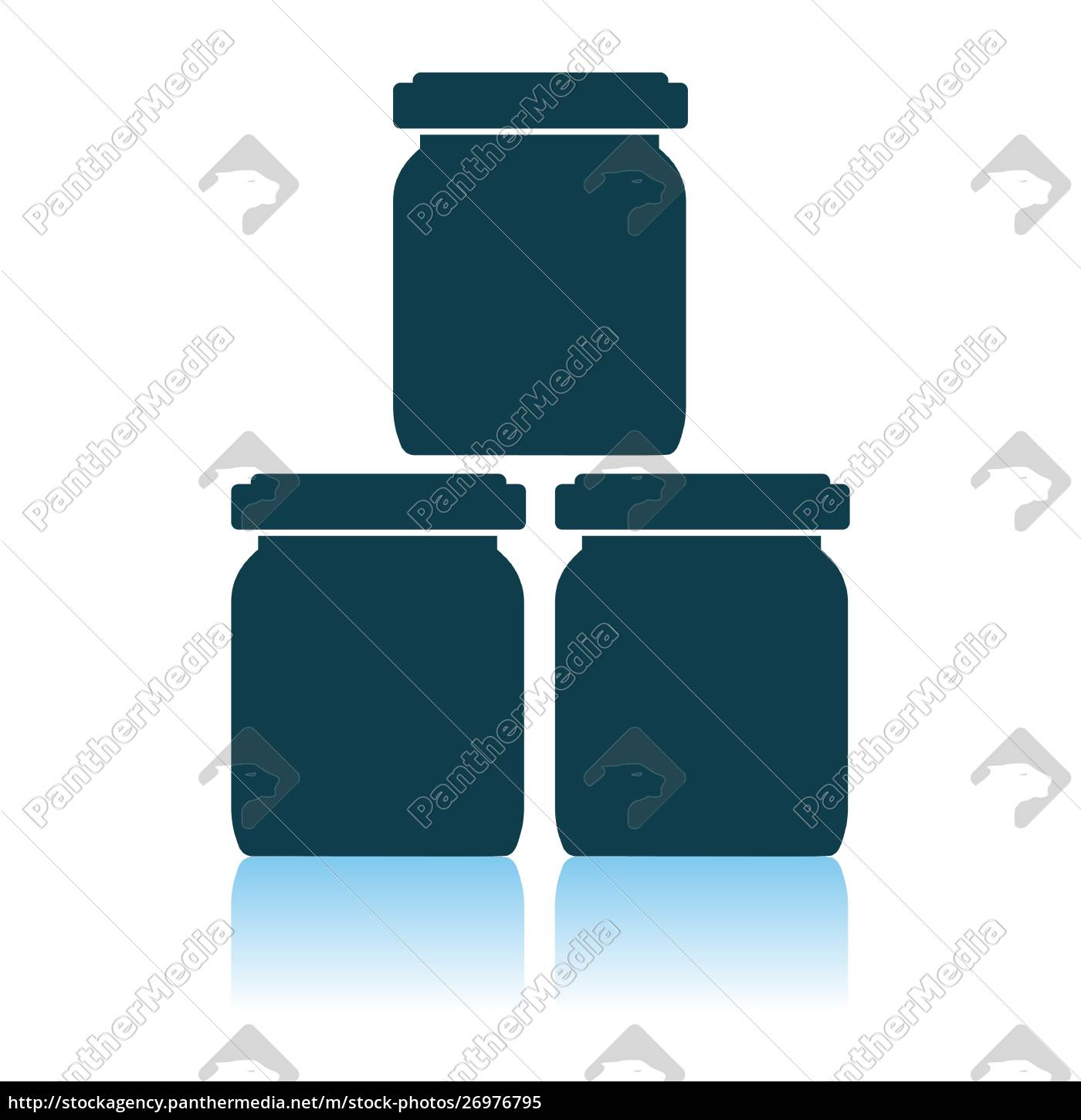 baby, glass, jars, icon - 26976795