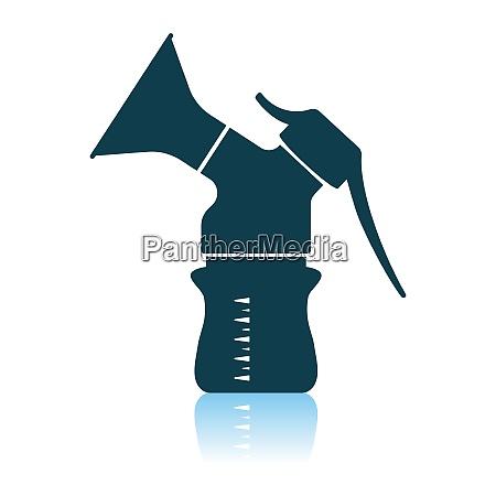 breast, pump, icon - 26976780