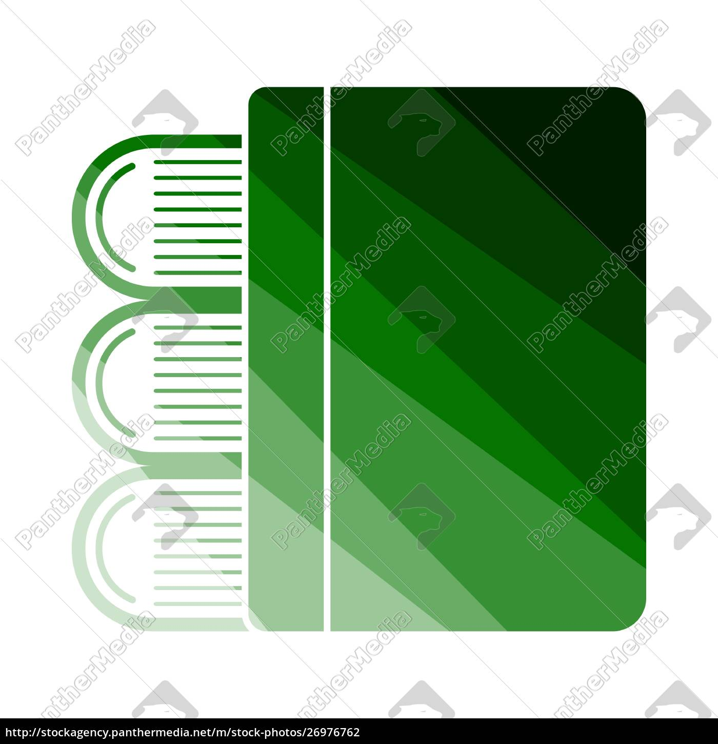 stack, of, books, icon - 26976762