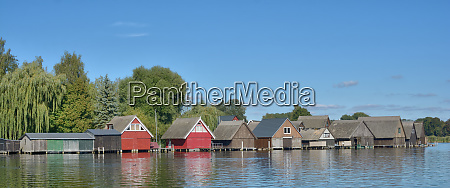 fishermans huts in roebel at