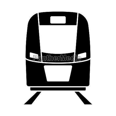 train icon front view