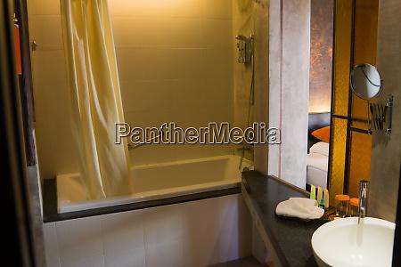 bangkok march 2013 modern luxurious bathroom