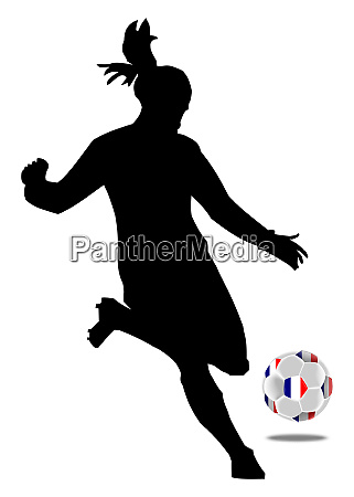 womens soccer female soccer player with