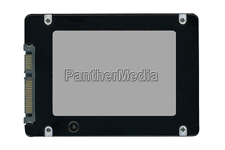 ssd solid state drive isolated over