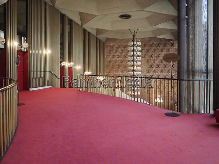 teatro regio royal theatre foyer in