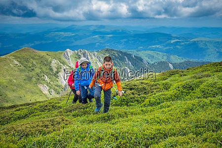 hiking in highlands