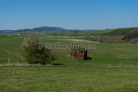 landscape of the nature sanctuary of