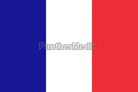 high res french flag of france