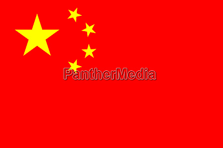 high res chinese flag of china