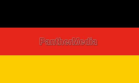 high res german flag of germany