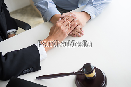 mature male lawyer or notary with