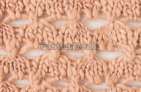 brown knitting pattern or knitted pattern