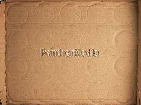 bottom of the brown cardboard box