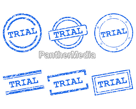 trial stamps