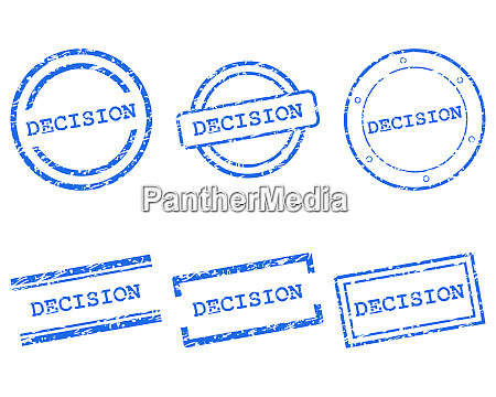 decision stamps