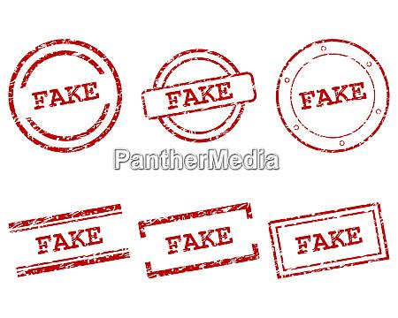 fake stamps