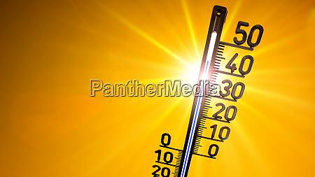 hot summer or heat wave background