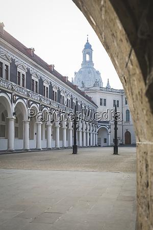germany saxony dresden dresden frauenkirche stable