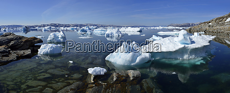 greenland east greenland fjord sermilik ice