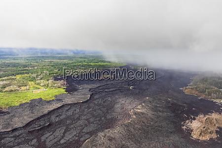 usa hawaii big island aerial view